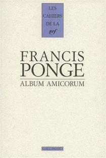 Album amicorum - FrancisPonge
