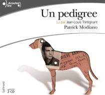 Un pedigree - PatrickModiano