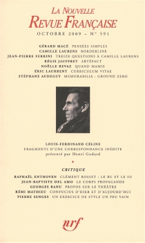Nouvelle revue française, n° 591 -