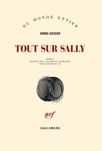 Tout sur Sally - ArnoGeiger