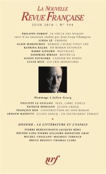 Nouvelle revue française, n° 594 -