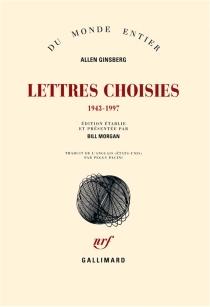 Lettres choisies, 1943-1997 - AllenGinsberg