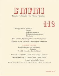 Infini (L'), n° 112 -