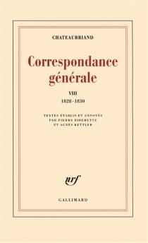 Correspondance générale - François René deChateaubriand