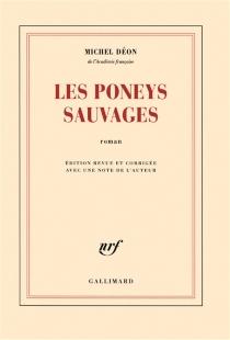 Les poneys sauvages - MichelDéon