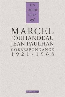 Correspondance : 1921-1968 - MarcelJouhandeau