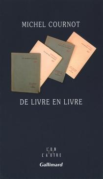 De livre en livre - MichelCournot