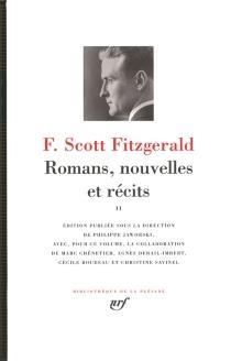 Romans, nouvelles et récits | Volume 2 - Francis ScottFitzgerald