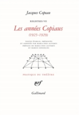 Les registres du Vieux-Colombier - JacquesCopeau