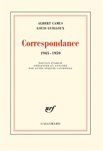 Correspondance : 1945-1959 - AlbertCamus
