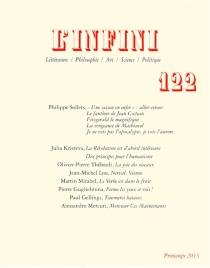 Infini (L'), n° 122 -