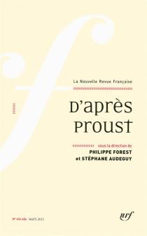 Nouvelle revue française, n° 603-604 -