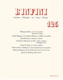 Infini (L'), n° 125 -