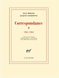 Correspondance - JacquesChardonne