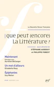 Nouvelle revue française, n° 609 -