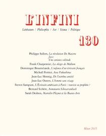 Infini (L'), n° 130 -