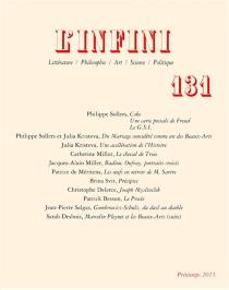 Infini (L'), n° 131 -