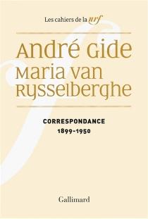 Correspondance, 1899-1950 - AndréGide