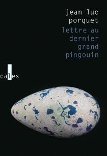 Lettre au dernier grand pingouin - Jean-LucPorquet