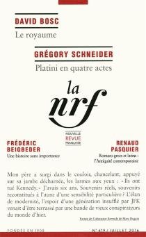 Nouvelle revue française, n° 619 -
