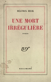 Une mort irrégulière - BéatrixBeck