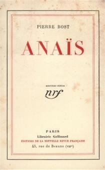 Anaïs - PierreBost