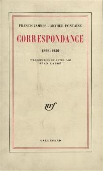 Correspondance : 1898-1930 - ArthurFontaine