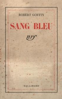 Sang bleu - RobertGoffin
