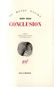 Conclusion - Henry Green