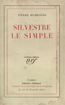 Silvestre le simple - Pierre Humbourg