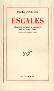 Escales - PierreHumbourg