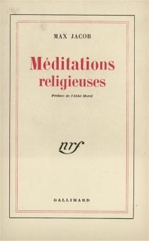 Méditations religieuses - MaxJacob