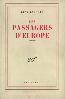 Les passagers d'Europe - RenéLaporte