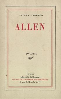 Allen - ValeryLarbaud