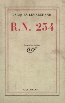 RN 234 - Jacques Lemarchand