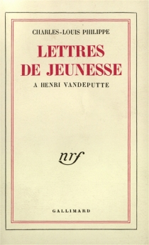Lettres de jeunesse : 1923-1931 - Antoine deSaint-Exupéry
