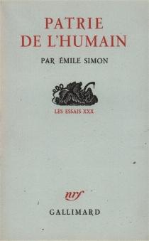 Patrie de l'humain - EmileSimon