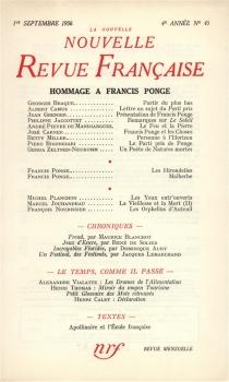 Nouvelle revue française, n° 45 -