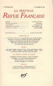 Nouvelle revue française, n° 146 -