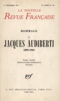 Nouvelle revue française, n° 156 -