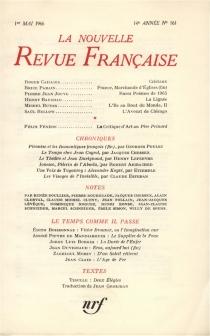 Nouvelle revue française, n° 161 -