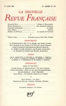 Nouvelle revue française, n° 174 -