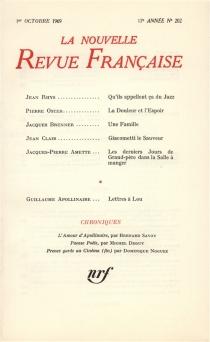 Nouvelle revue française, n° 202 -