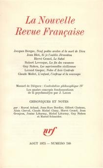 Nouvelle revue française, n° 248 -