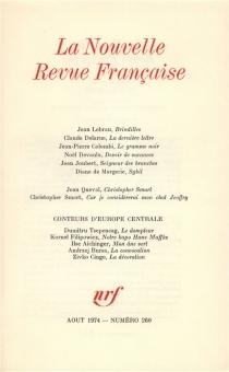 Nouvelle revue française, n° 260 -