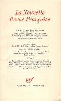 Nouvelle revue française, n° 264 -
