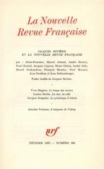 Nouvelle revue française, n° 266 -
