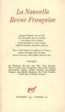 Nouvelle revue française, n° 276 -