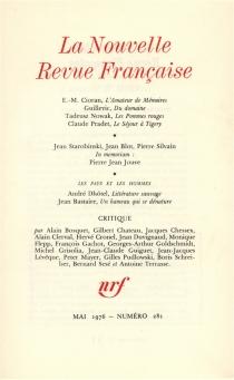 Nouvelle revue française, n° 281 -