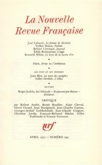 Nouvelle revue française, n° 292 -
